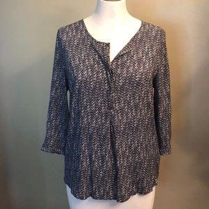 Wmns 3/4 sleeve blouse